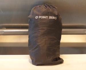 Regnponcho i väska